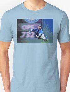 Kevin Pillar Takes a Dive Unisex T-Shirt