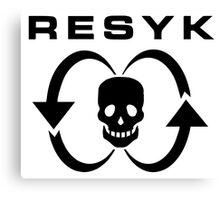 Resyk Canvas Print