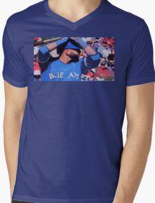 Joey Bats Mens V-Neck T-Shirt