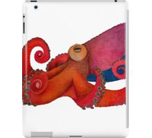 Drunk Octopus iPad Case/Skin