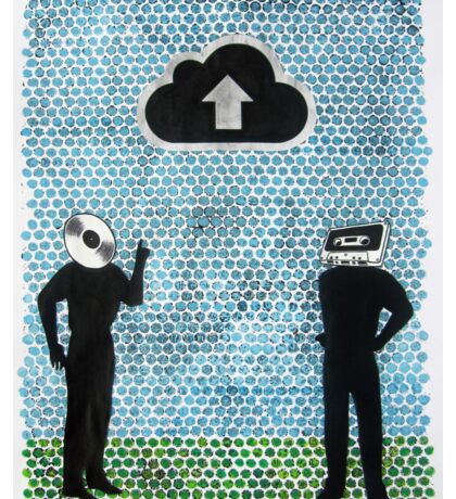 Untitled (iCloud) Sticker