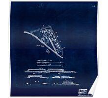 Civil War Maps 0387 Fort Lee Inverted Poster