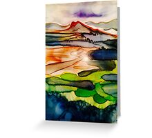 Castle hill wash Greeting Card