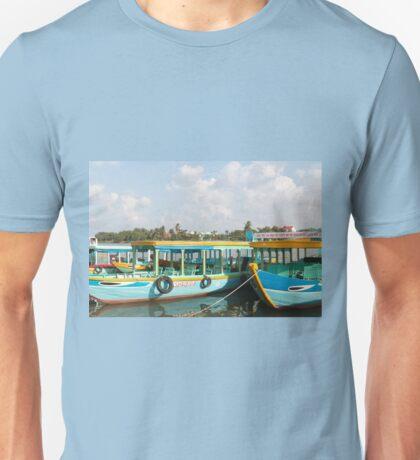 River Boats Hoi An Vietnam Unisex T-Shirt
