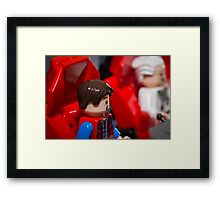 Slow Down Doc Framed Print