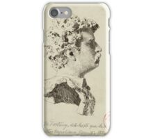 Maria Fortuny, Reus, û Rome, , Bust of Fortuny, by Vincenzo Gemito iPhone Case/Skin