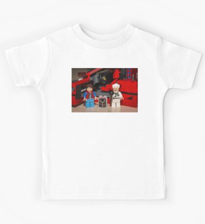 Flux Capacitor goes where? Kids Tee