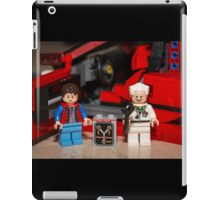 Flux Capacitor goes where? iPad Case/Skin