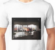 Tolvaddon Fire Station at night Unisex T-Shirt