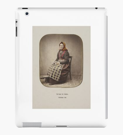 Married woman from Valdres, Christians Amt,  iPad Case/Skin