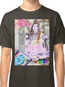 Vaporwave Seapunk - God bless the internet Classic T-Shirt
