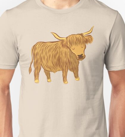 Highland COO (Cow) Unisex T-Shirt