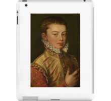 portrait of don juan of austria by coello  iPad Case/Skin