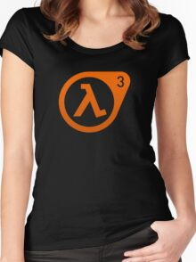 Half Life 3  Women's Fitted Scoop T-Shirt