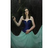 I don't belive in fairytales Photographic Print