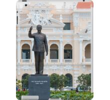Statue of Ho Chi Minh in Saigon Vietnam iPad Case/Skin