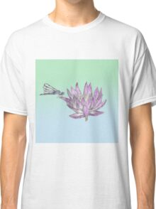 Dragonfly Lily Classic T-Shirt