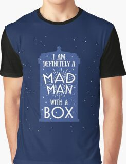 A Mad Man With A Box Graphic T-Shirt