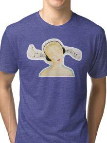 A music Tri-blend T-Shirt
