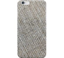 Canvas Fabric Texture iPhone Case/Skin
