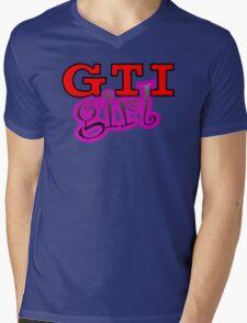 GTI Girl Mens V-Neck T-Shirt