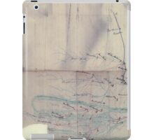 Civil War Maps 2029 Map of part of eastern West Virginia extending from Romney westward to Clarksburg centering on the Rich Mountain Battle area iPad Case/Skin