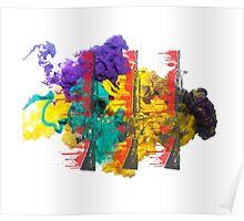 Proud Guns - Multi Colour Gamer Poster