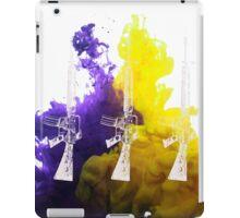 Proud Guns - Multi White Gamer iPad Case/Skin
