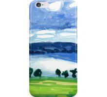 Summer morning view of Skaneateles Lake iPhone Case/Skin