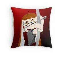 Splatoon - The Hunger Games Throw Pillow