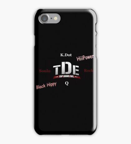 TDE  iPhone Case/Skin