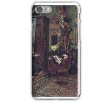 William John Hennessy - The Artist's Studio iPhone Case/Skin