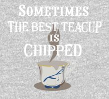 Sometimes The Best Teacup Is Chipped One Piece - Short Sleeve