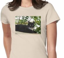 Tuxedo Cat Of Jerome Arizona Womens Fitted T-Shirt