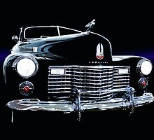 1941 Cadillac Series 62 Convertible Coupe by Thomas Burtney