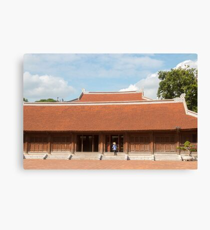 Temple of Literature Hanoi Vietnam Canvas Print