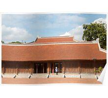 Temple of Literature Hanoi Vietnam Poster