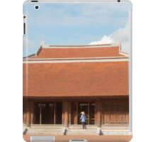 Temple of Literature Hanoi Vietnam iPad Case/Skin