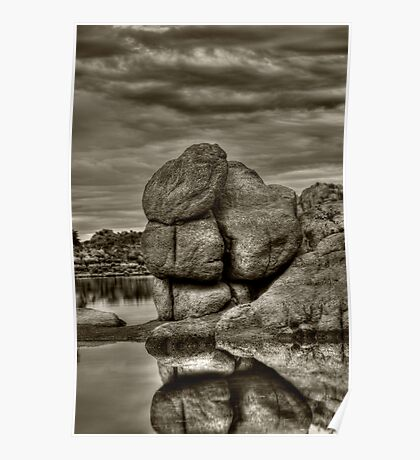 Watson Lake Prescott Arizona Poster