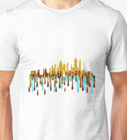 New York City, New York skyline YBB Unisex T-Shirt