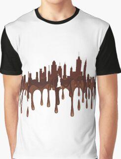 New York City, New York skyline CH Graphic T-Shirt