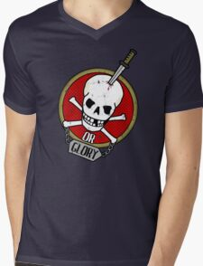 Death or Glory Mens V-Neck T-Shirt
