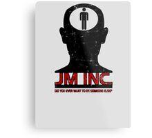 JM Inc. from Being John Malkovich Metal Print