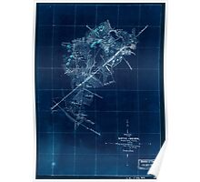 Civil War Maps 1635 Sketch of the battle of Bristoe Wednesday Oct 14 1863 Inverted Poster