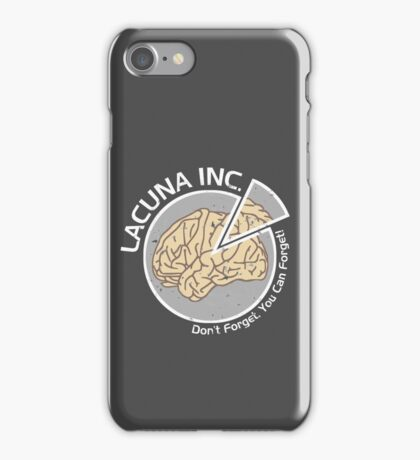 Lacuna Inc. logo from Eternal Sunshine of the Spotless Mind iPhone Case/Skin