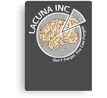 Lacuna Inc. logo from Eternal Sunshine of the Spotless Mind Canvas Print