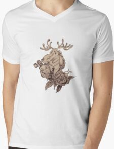 Long Mens V-Neck T-Shirt