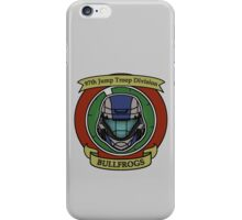 The Bullfrogs Insignia iPhone Case/Skin