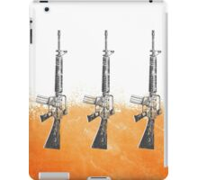 Proud Guns - Orange Gamer iPad Case/Skin