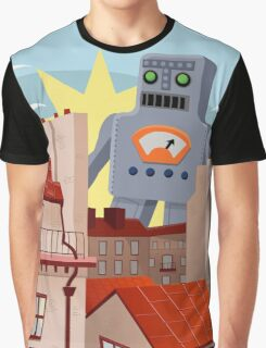 The Day The Giant Robot Arrived Graphic T-Shirt